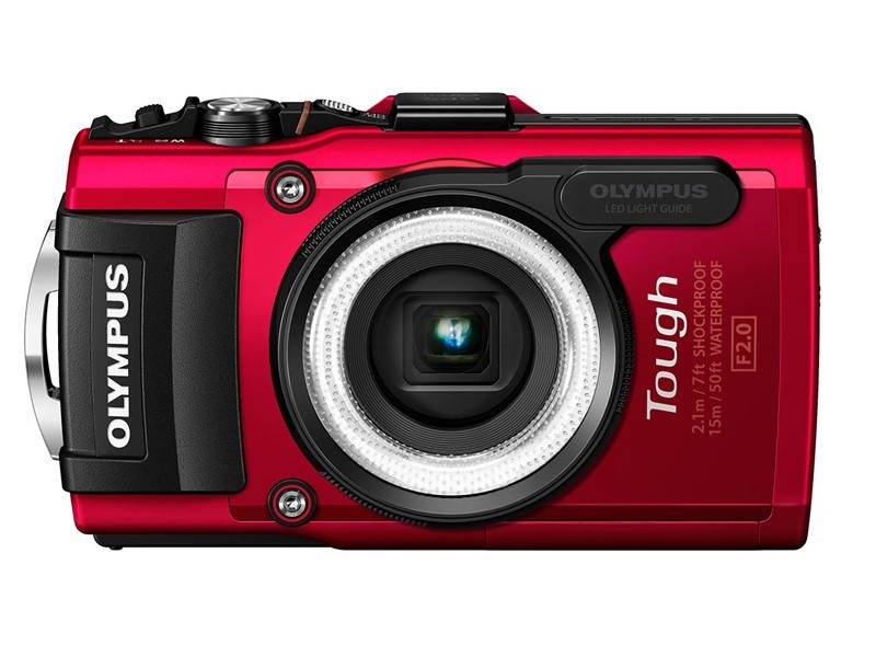 Красный Olympus Stylus TOUGH TG-3