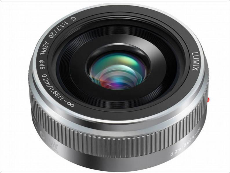 Panasonic Lumix G H-H020AK 20 мм f/1.7 II ASPH объективы Micro Four Thirds
