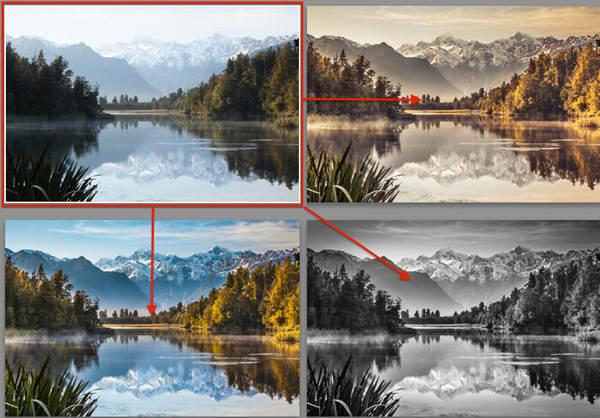 Озеро Мэтисон и Южные Альпы на рассвете