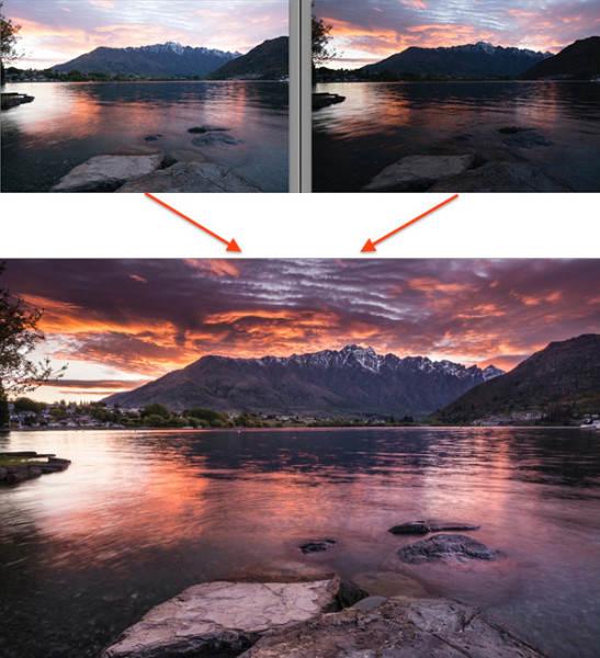 Сила постобработки в пейзажной фотографии 4