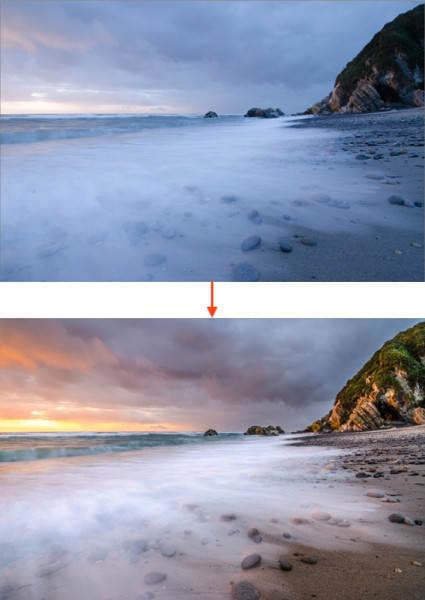 """Постобработка в пейзажной фотографии. Пример """"До"""" и """"После"""""""