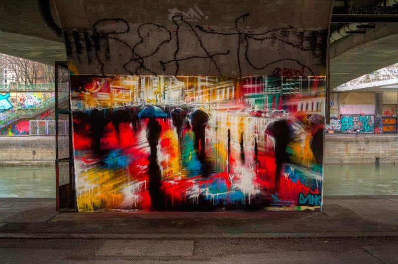 Стрит-арт в Вене, Австрия. Фото: Herbalizer