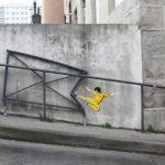 Уличное искусство в городах разных стран