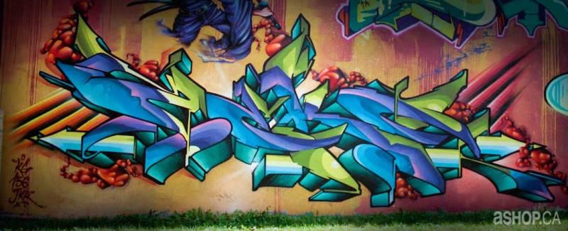 Уличные художники A'shop crew и их картины 2