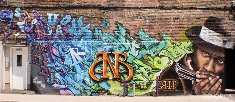 Уличные художники A'shop crew и их картины 4