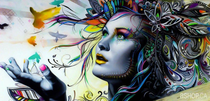Уличные художники A'shop crew и их картины 5