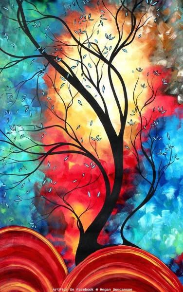 Яркие картины Меган Данкенсон (Megan Duncanson) 12