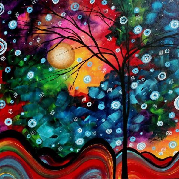 Яркие картины Меган Данкенсон (Megan Duncanson) 13