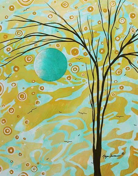 Яркие картины Меган Данкенсон (Megan Duncanson) 3