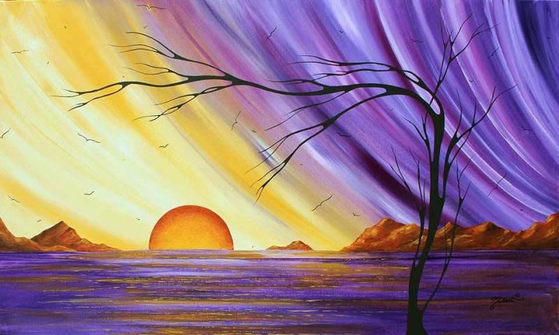 Яркие картины Меган Данкенсон (Megan Duncanson) 4