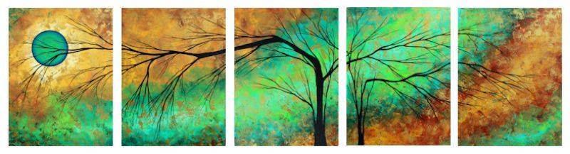 Яркие картины Меган Данкенсон (Megan Duncanson) 9