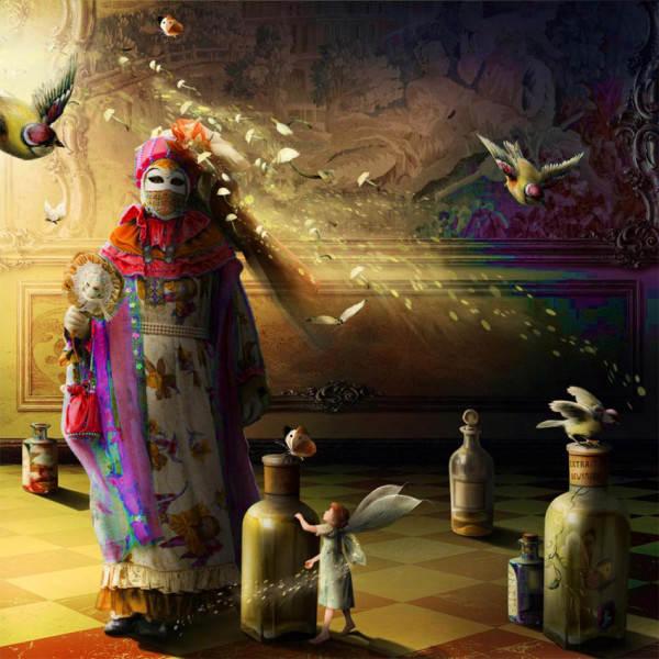 цифровые картины Кинга Бритшги