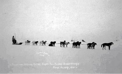 Фотография Аллана Александра Алана Ном, Аляска 1915 год