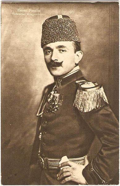 Фотография Николы Першайда,  Энвер-паша, 1917 год