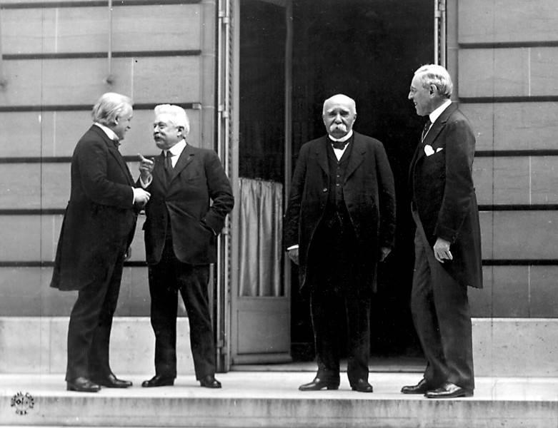 Фотография Эдварда Джексона, «Большая четверка», 1919 год