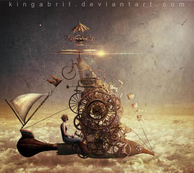 художественная обработка  3 Кинга Бритшги