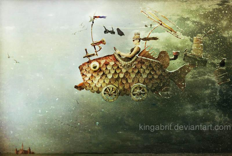 художественная обработка Кинга Бритшги