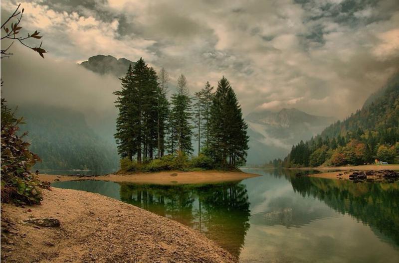 Сила обработки в пейзажной фотографии