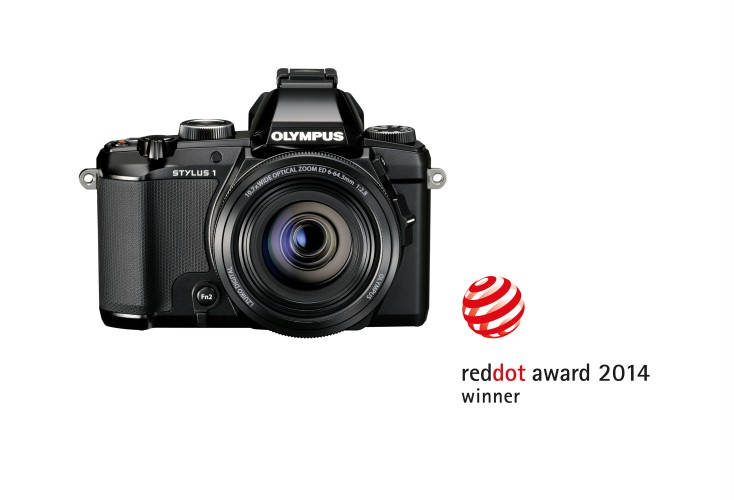 Olympus STYLUS 1 лауреат Red Dot Award 2013