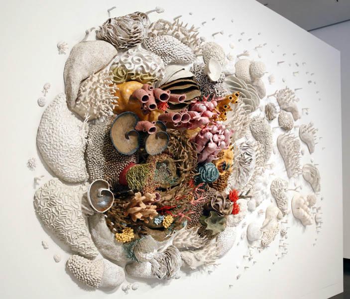 Керамические коралловые рифы Кортни Мэттисон (Courtney Mattison)