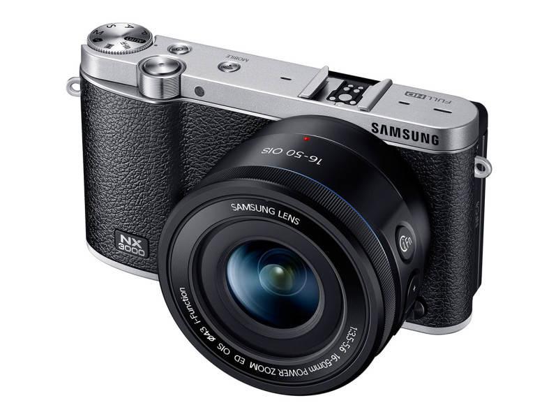 Беззеркальный фотоаппарат Samsung NX3000 2