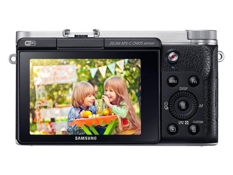 Беззеркальный фотоаппарат Samsung NX3000