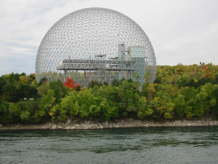 Экологический музей в Монреале Biosphere (Canada)