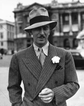 Фотография Уолта Диснея (Walt Disney), 1932 год
