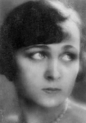 Фотография победительницы конкурса «Мисс Россия» Ирины Левицкой, 1929 год