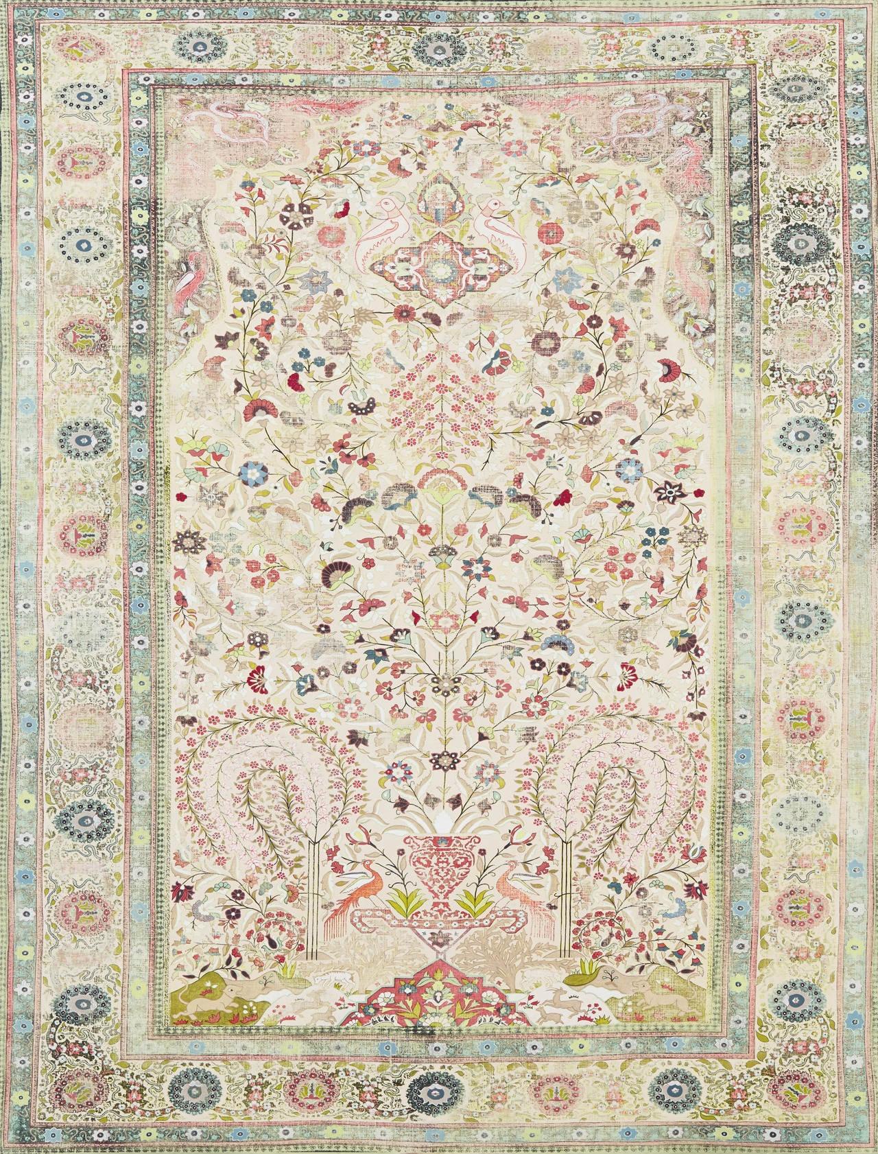 Рисованные ковры Kour Pour