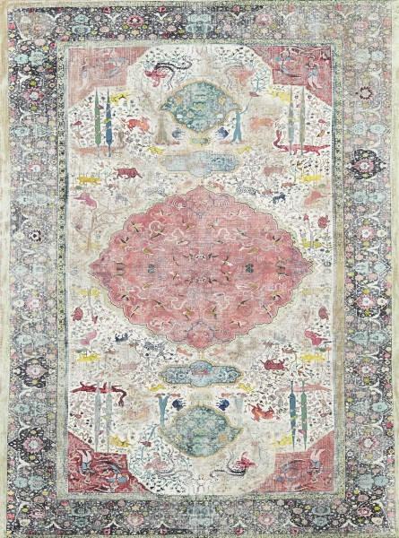 Рисованные ковры