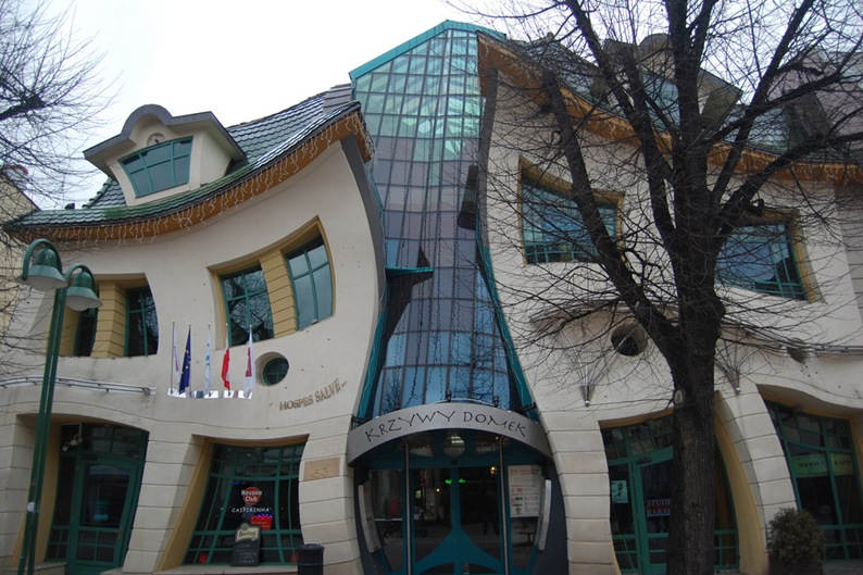 Необычный дом в Сопот, Польша