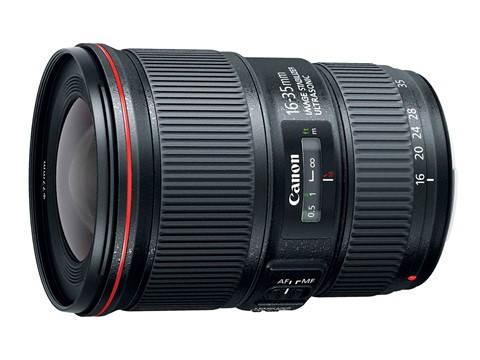 Широкоугольный объектив Canon EF 16-35 мм f4L IS USM