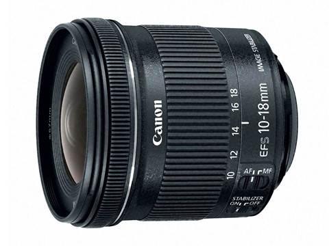 Широкоугольный объектив Canon EF-S 10-18 мм f4.5-5.6 IS STM