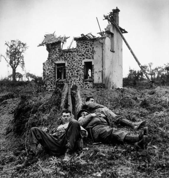 Величайший военный фотограф Роберт Капа 22