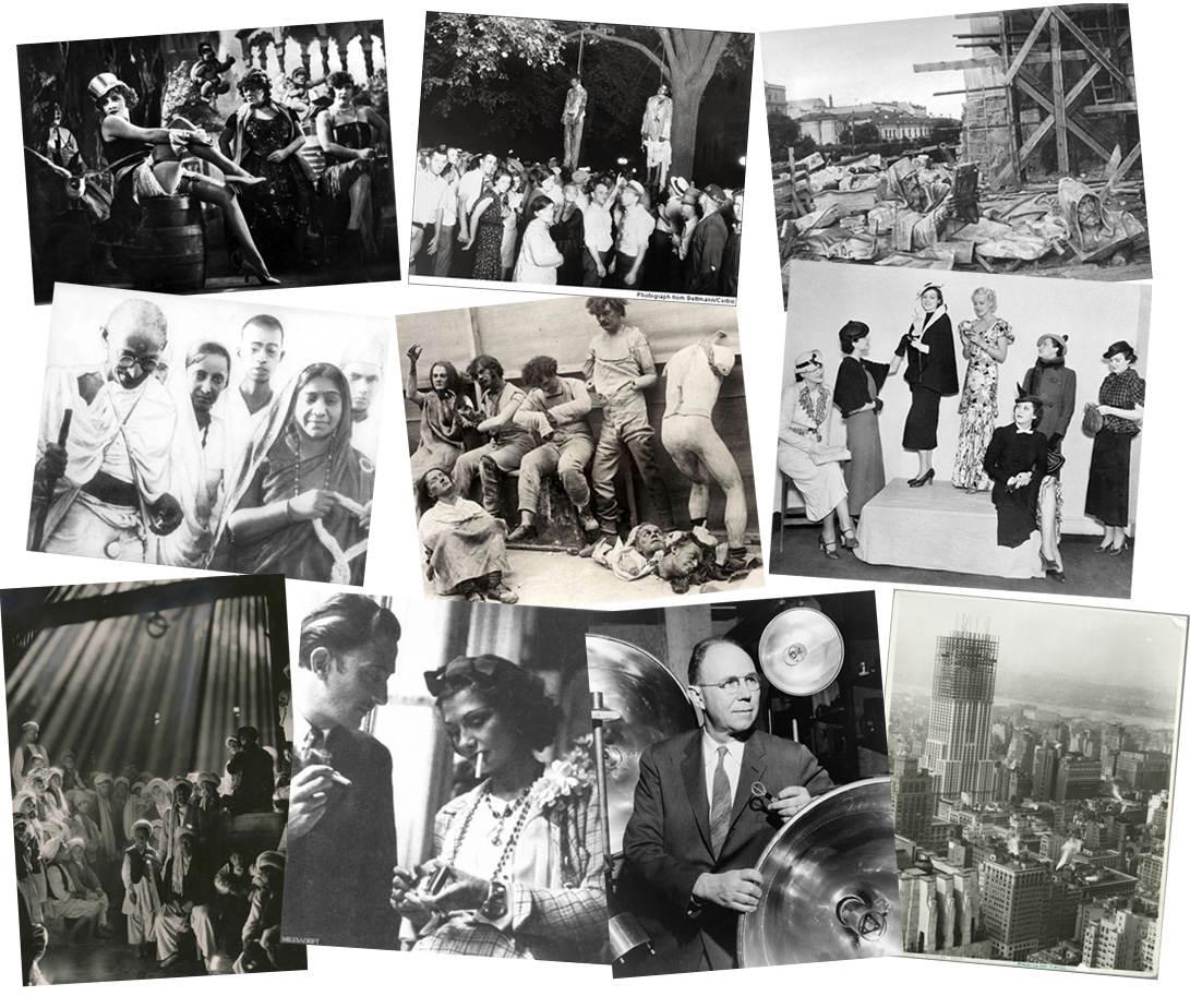 История в фотографиях (1930 — 1931)