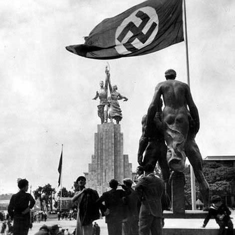 Фотография экспонатов Всемирной выставки в Париже, 1937 года