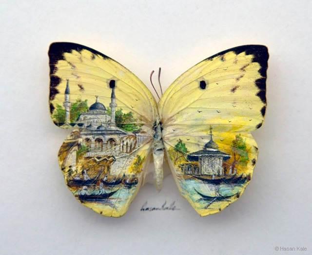 Крошечные картины Хасан Кале (Hasan Kale) 16