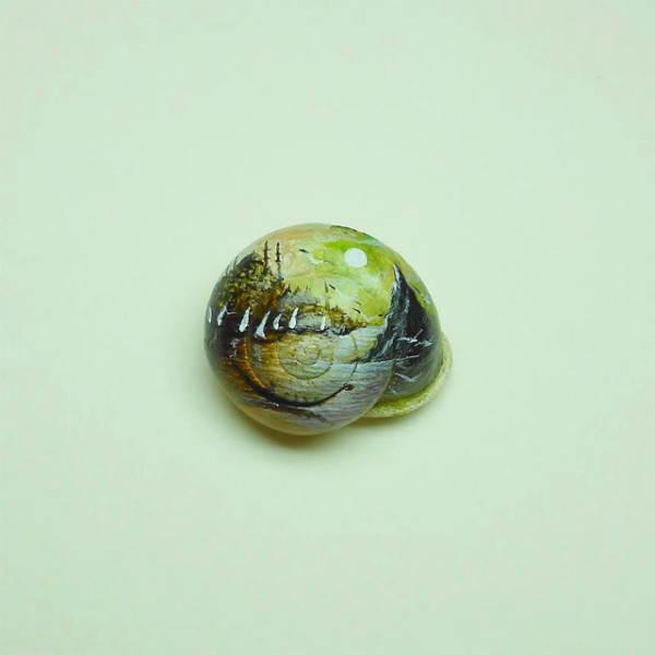 Крошечные картины Хасан Кале (Hasan Kale) 17