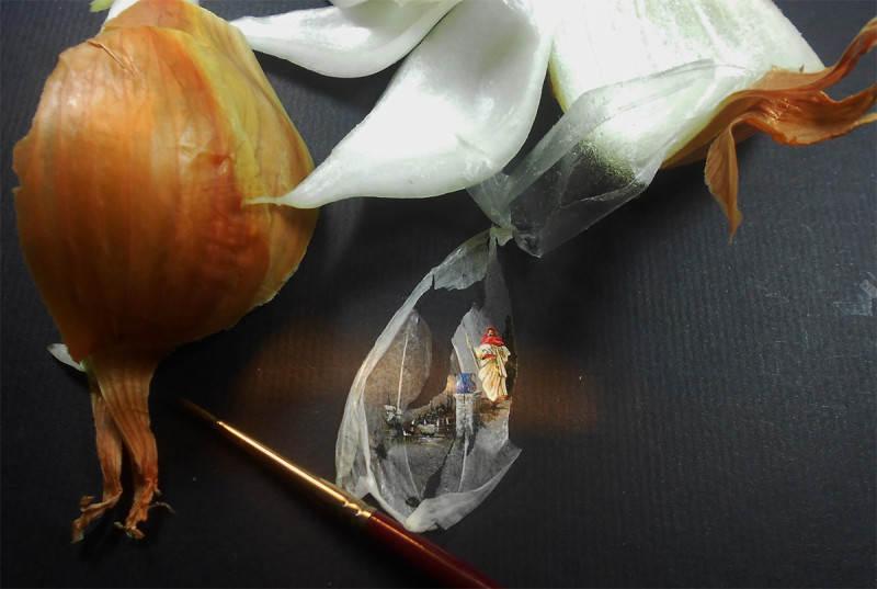 Крошечные картины Хасан Кале (Hasan Kale) 2