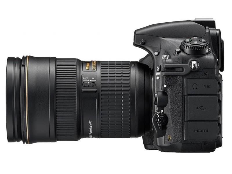 Полнокадровый фотоаппарат Nikon D810