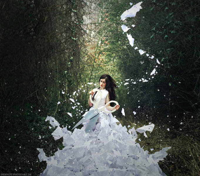 Сюрреализм в фотографиях. Катарина Юнг (Katharina Jung) 13