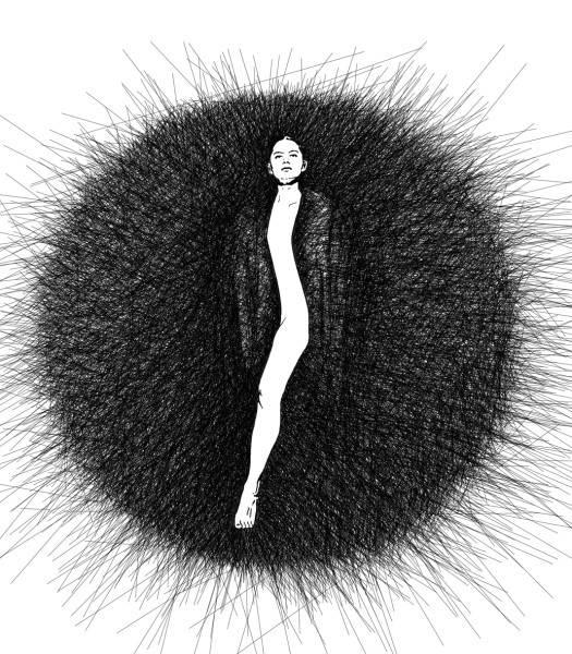 Креативные Вышитые изображения французской художницы