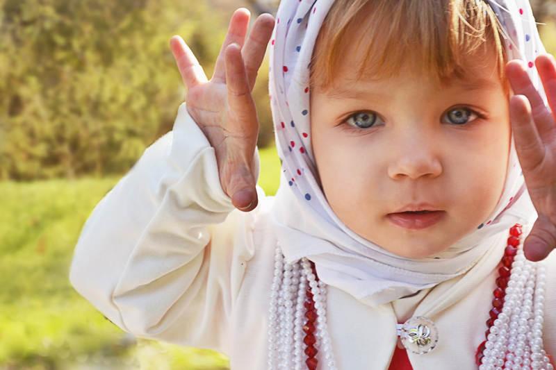 Фотограф Алена Крамер  Фотовыставка Радость детства