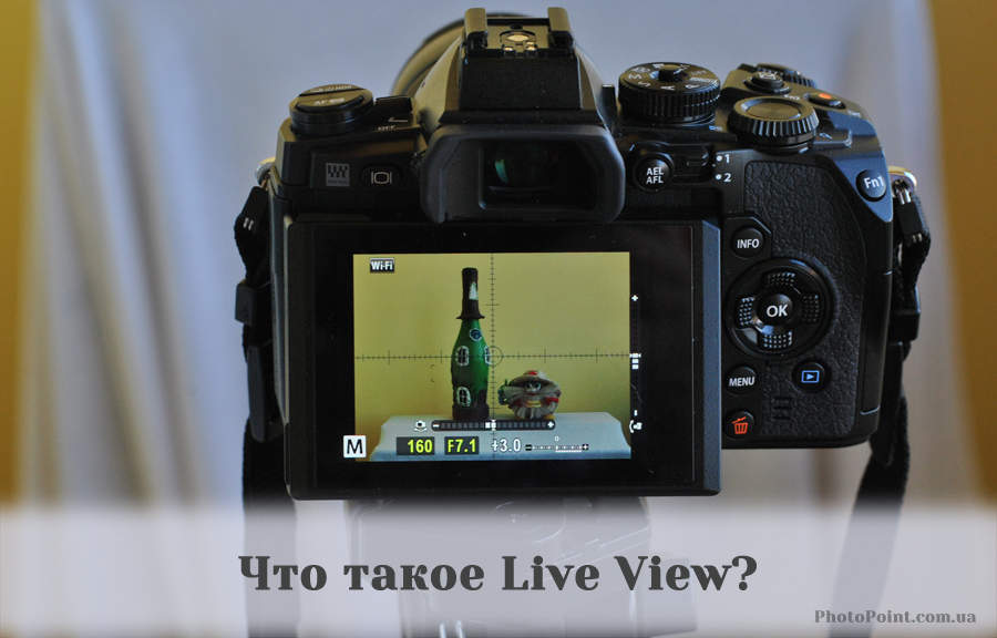Режим Live View в фотоаппарате Olympus OM-D E-M1