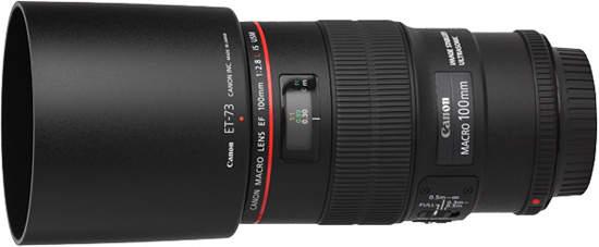 объектив Canon EF 100 мм f2.8L Macro IS USM