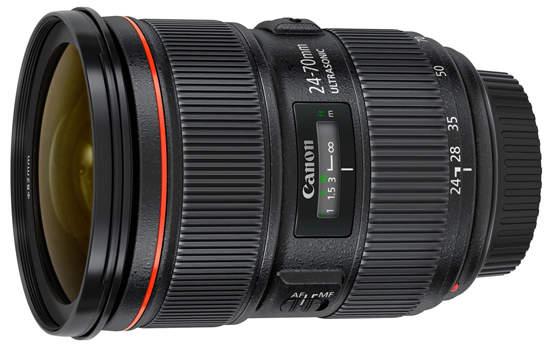 объектив Canon EF 24-70 мм f2.8L II USM