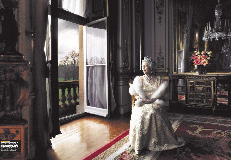 Королева Елизавета II в объективе Энни Лейбовиц (Annie Leibovitz)