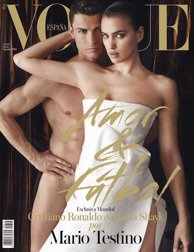 Ирина Шейк (Irina Shayk) и Криштиану Роналду (Cristiano Ronaldo) для Vogue Испания 13