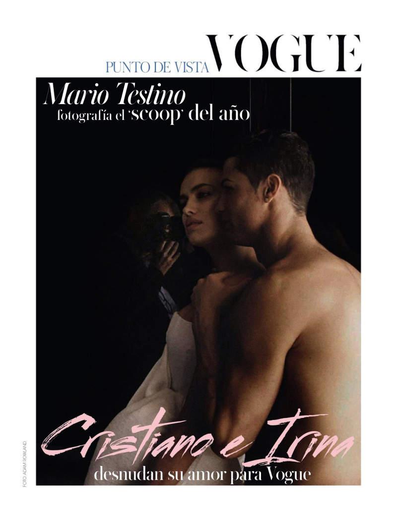 Ирина Шейк (Irina Shayk) и Криштиану Роналду (Cristiano Ronaldo) для Vogue Испания 3